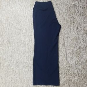 St. John Sport by Marie Gray Navy Straight Pants